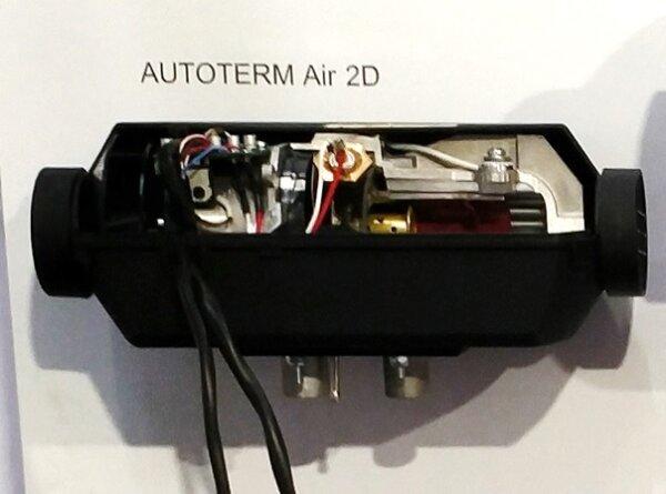 Autoterm Air 2D - Längsschnitt mit Ständer