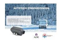 Autoterm Standheizung Flyer DIN A5, Motiv: Wohnwagen