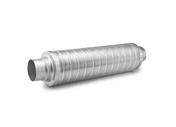 Schalldämpfer für Warmluftrohr 90mm